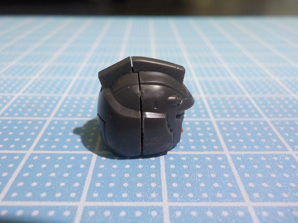HG局地型ガンダム(北米戦仕様) 頭部後ハメ加工のやり方はココ