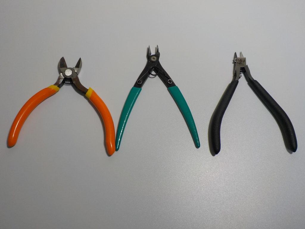 ガンプラで使うニッパーを比較、数十体組み立てた結果のおすすめはコレ