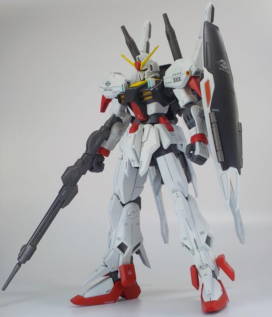 RE1/100 ガンダムマークⅢをマークⅡカラーに全塗装してみた!