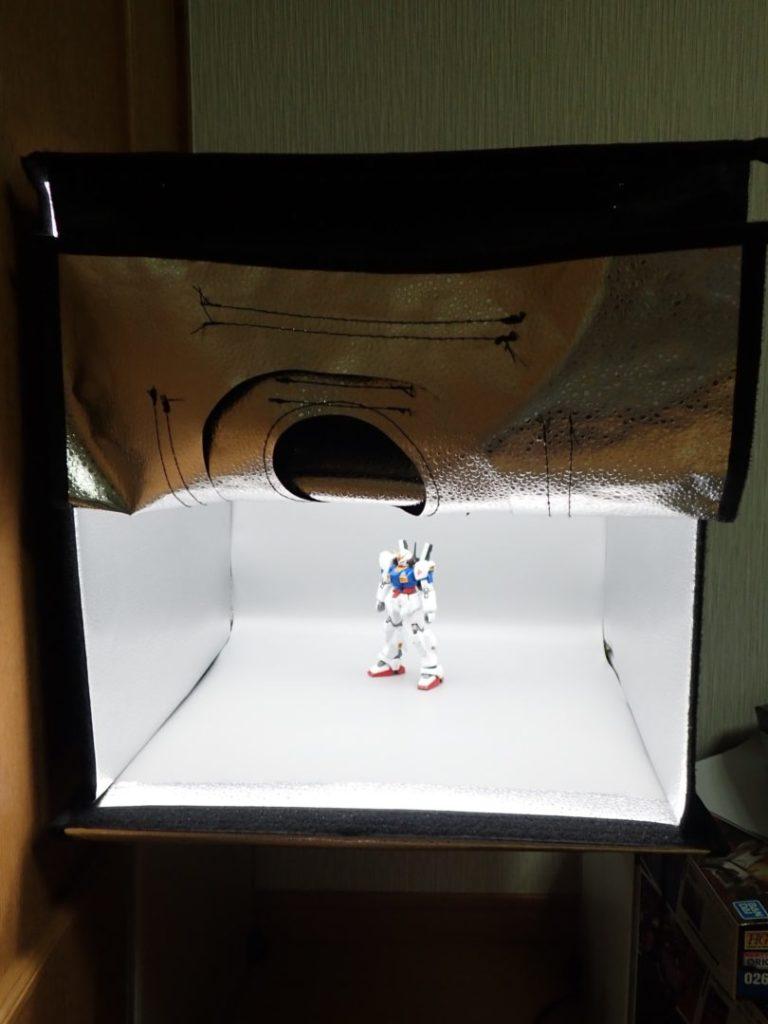 ガンプラにおすすめの撮影ブースはコレ!簡単、キレイにプラモを撮影できる!